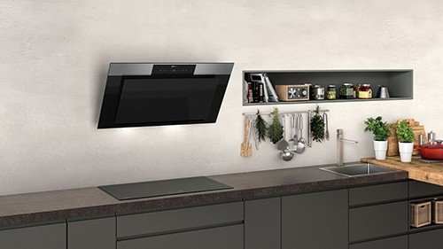 Hota decorativa cu design inclinat - Neff - D95IPP1N0
