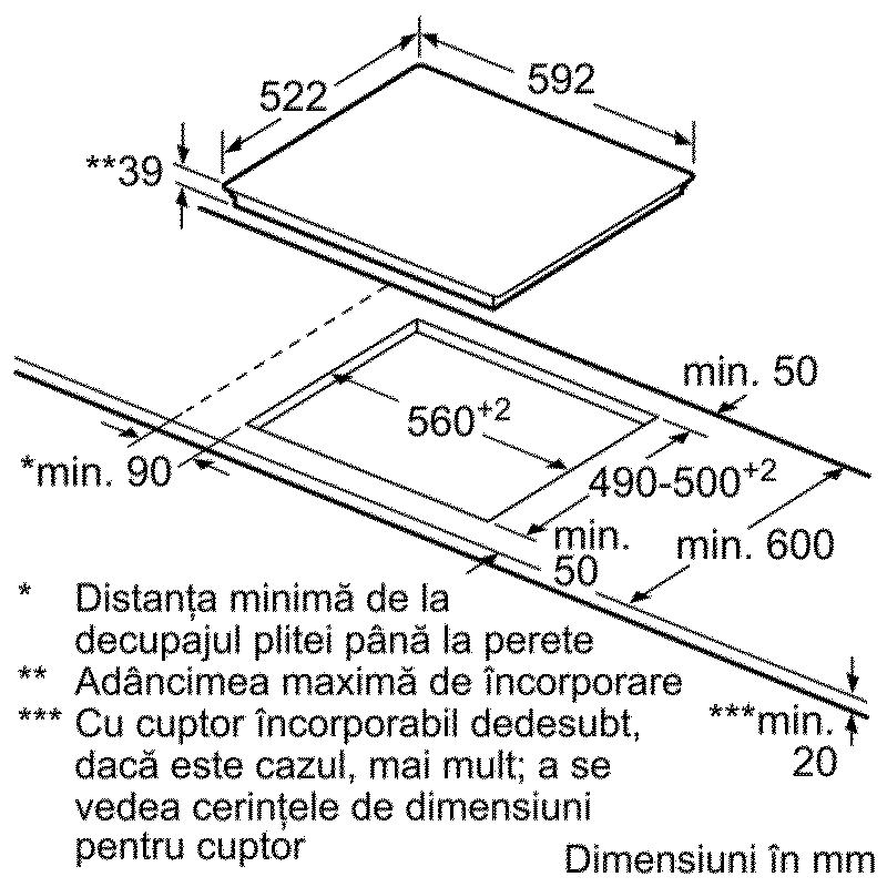 Plita vitroceramica - Bosch - PKE611D17E